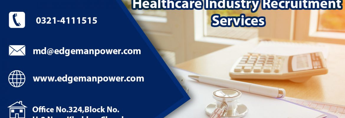 Healthcare industry recruitment services