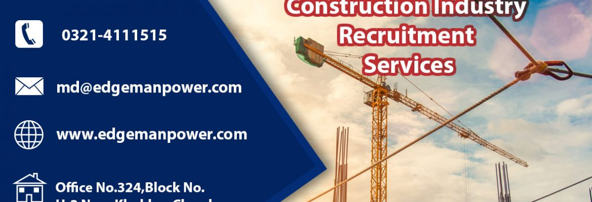 Construction industry recruitment services