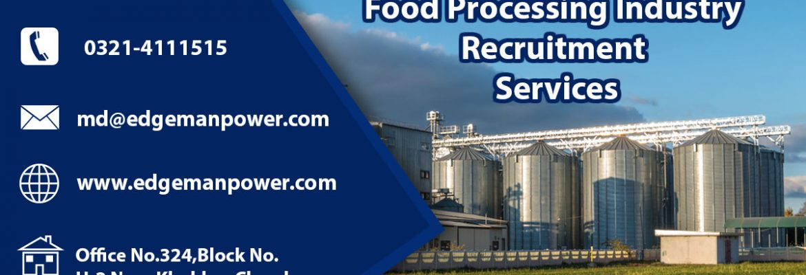 Food Processing Industry recruitment services