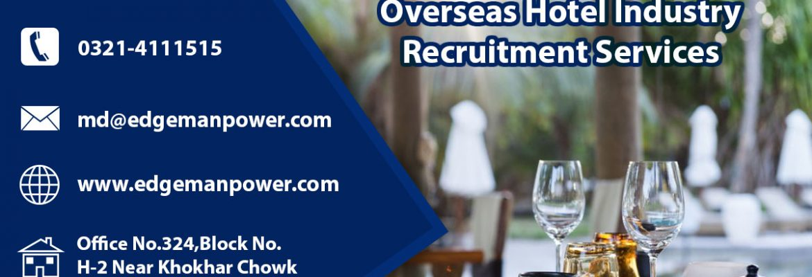 Overseas Hotel Industry Recruitment Services